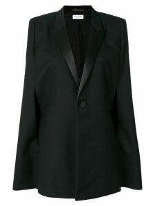 Saint Laurent cape style blazer - Black