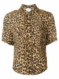 Nanushka Clare shirt - Brown