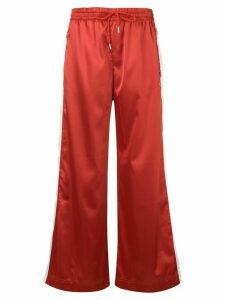 Fila wide leg track pants - Red
