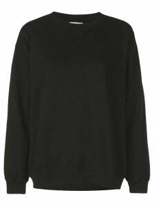 ANINE BING vintage style sweatshirt - Black