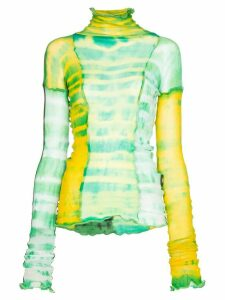 ASAI Hot Wok tie-dye top - Green