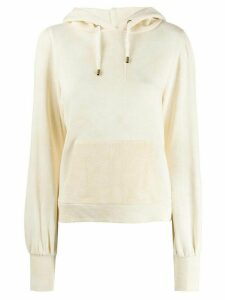 LoveShackFancy plain hoodie - NEUTRALS