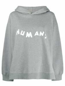 Mm6 Maison Margiela Humans hoodie - Grey