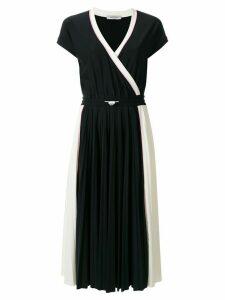 Valentino wrap effect dress - Black