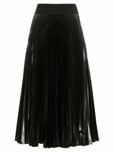 Fendi pleated midi skirt - Black