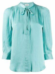 Zadig & Voltaire cravat tie blouse - Blue