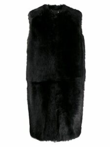 Givenchy long gilet - Black