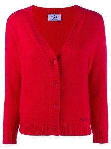 Prada fine knit cardigan - Red