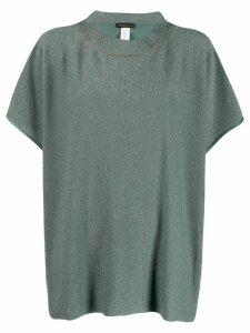 Fabiana Filippi sparkly T-shirt - Blue