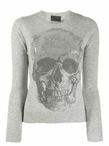 Philipp Plein Skull jumper - Grey
