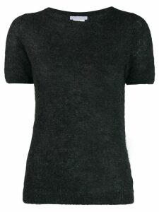 Société Anonyme fine knit T-shirt - Grey