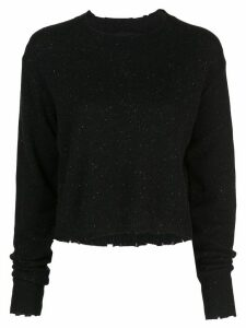 RtA crew neck sweatshirt - Black