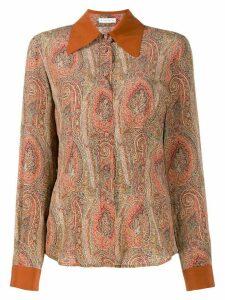 Etro paisley print shirt - NEUTRALS