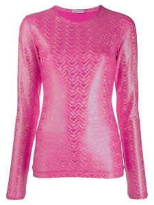 Saks Potts shimmer top - PINK