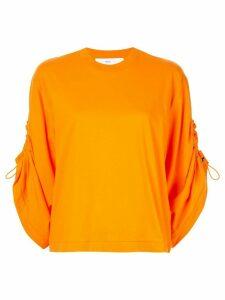 Toga drawstring T-shirt - ORANGE