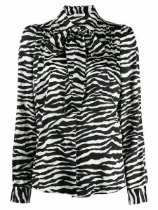 P.A.R.O.S.H. zebra print shirt - White
