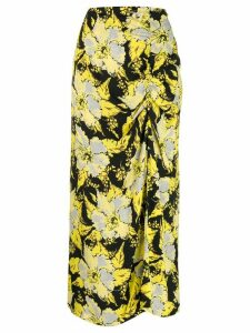 colville floral maxi skirt - Yellow