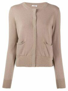 Peserico maglia button-up cardigan - NEUTRALS