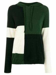 Chinti and Parker color block hoodie - Green