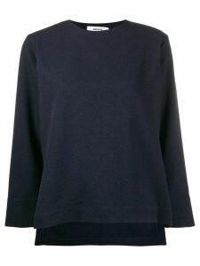 Zucca knitted sweatshirt - Blue