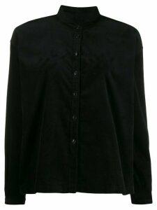 YMC plain boxy shirt - Black