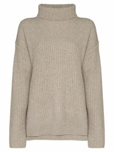 Joseph roll-neck cashmere jumper - NEUTRALS