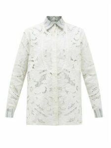 Rianna + Nina - Kendima Vintage Broderie-anglaise Cotton Blouse - Womens - Multi