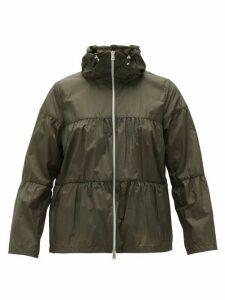 Herno - Funnel-neck Technical Jacket - Womens - Khaki