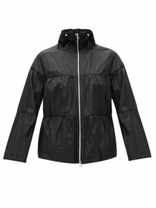 Herno - Funnel-neck Technical Jacket - Womens - Black