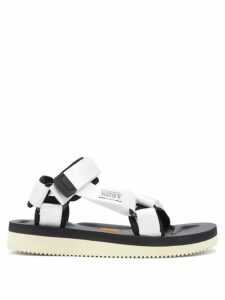 Suicoke - Depa-v2 Velcro-strap Sandals - Womens - White