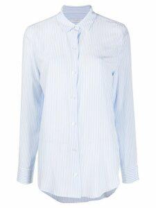 Equipment pinstripe shirt - Blue