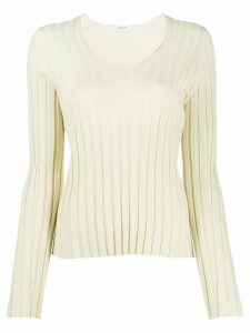 Filippa K Wendy V-neck jumper - NEUTRALS