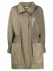Filippa K Soft Sport Callie hooded coat - Green