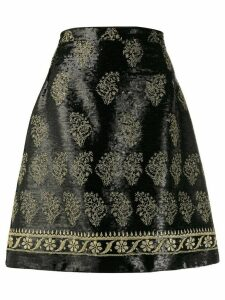 Giambattista Valli sequined A-line skirt - Black