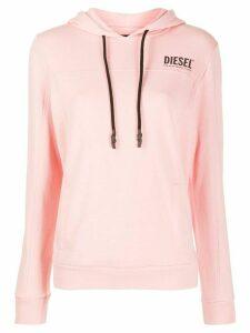 Diesel logo hoodie - PINK