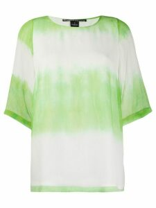 Pinko two-tone gradient T-shirt - Green