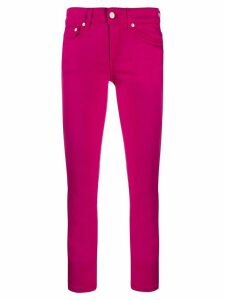 Dondup cropped skinny trousers - PINK