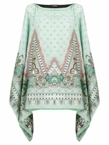 Etro printed kaftan blouse - Green