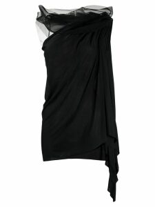 Rick Owens Lilies asymmetric tank top - Black