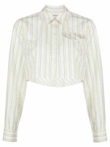 Baum Und Pferdgarten cropped shirt - White