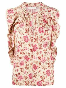Masscob floral print blouse - NEUTRALS