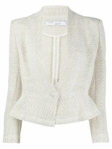 IRO fitted peplum jacket - ECR01 ECRU