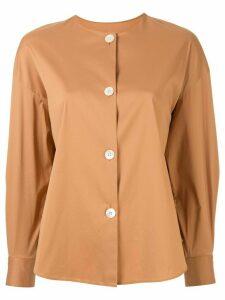 Tomorrowland poplin shirt - Brown