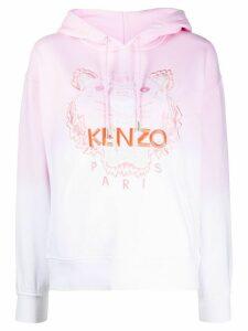 Kenzo Tiger ombré hoodie - PINK