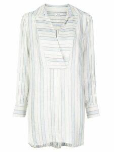 Co stripe print shirt - Blue