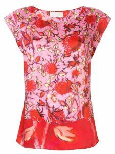 Peter Pilotto floral print top - PINK