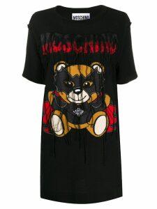 Moschino Bat Teddybear T-shirt dress - Black