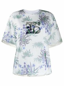 Kenzo Sea Lily layered T-shirt - White