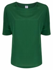 Aspesi oversized silk blouse - Green
