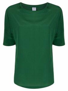 Aspesi oversized silk blouse - Green